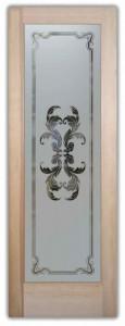 Florence Flourish Pantry Doors