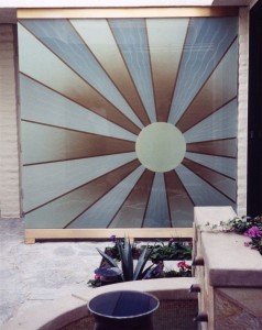 Sun Beam Partitions Freestanding