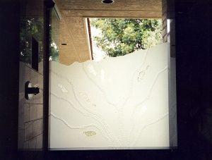 Riverbed Tub Window