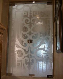 Seville with Lock Frameless Glass Doors