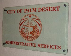 City Of Palm Desert Signs