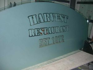 Harvest Restaurant Signs