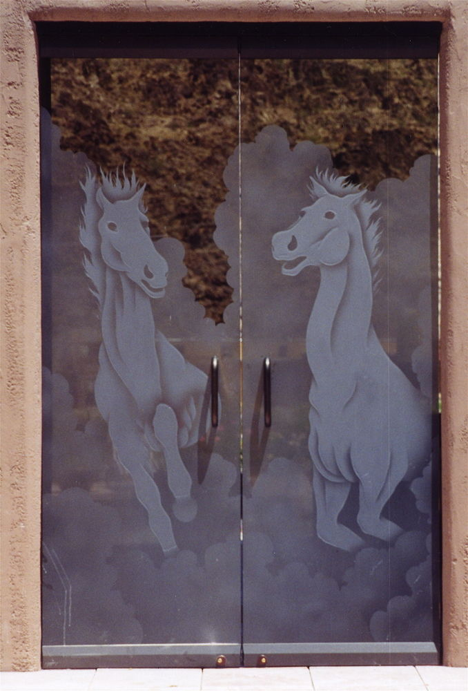 Stallions (Bronze Glass)