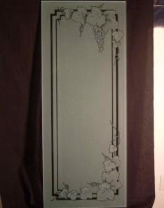 z Vineyard Grapes Garland 3D Wine Cellar Door