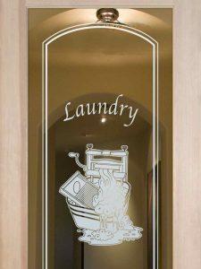 Thru the Wringer Laundry Room Door - Positive Effect