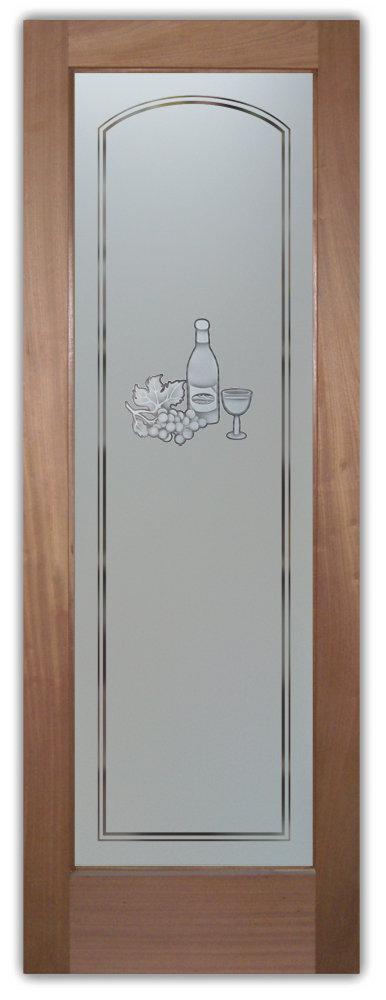 Frosted glass pocket door for Glass pantry door home depot