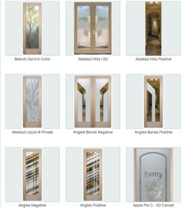 Glass Front Doors – Beautiful Semi-Private Glass Etching
