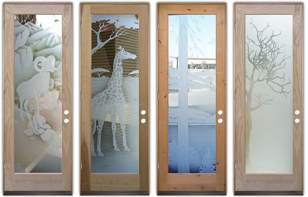 art glass doors custom glass etching sans soucie