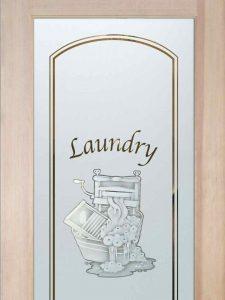Thru the Wringer - Laundry Room Door - 2D