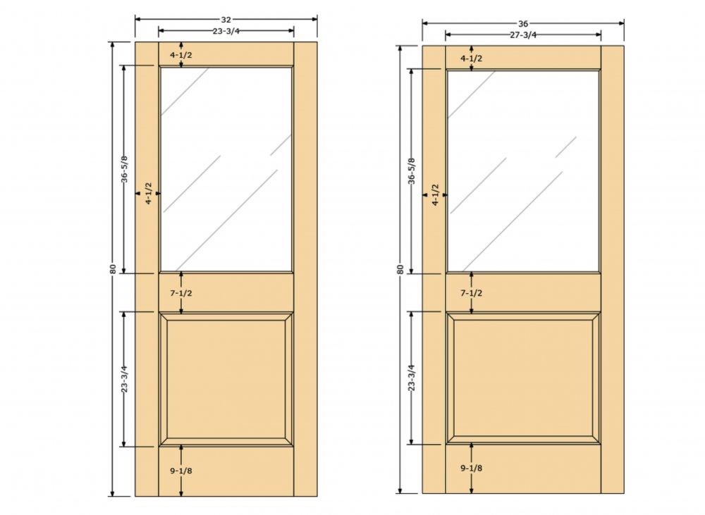 Door Style Half Lite 1 Panel 182 Sans Soucie Art Glass