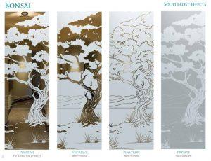 Bonsai Design Solid Frost