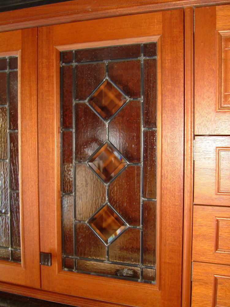 Cabinet Glass Leaded Glass Cabinets By Sans Soucie