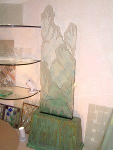 Iceberg Edge Sculpture