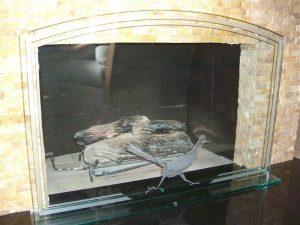 Roadrunner Fireplace Screen