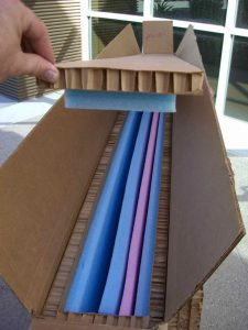Box - 3 Panels - Tall Glass
