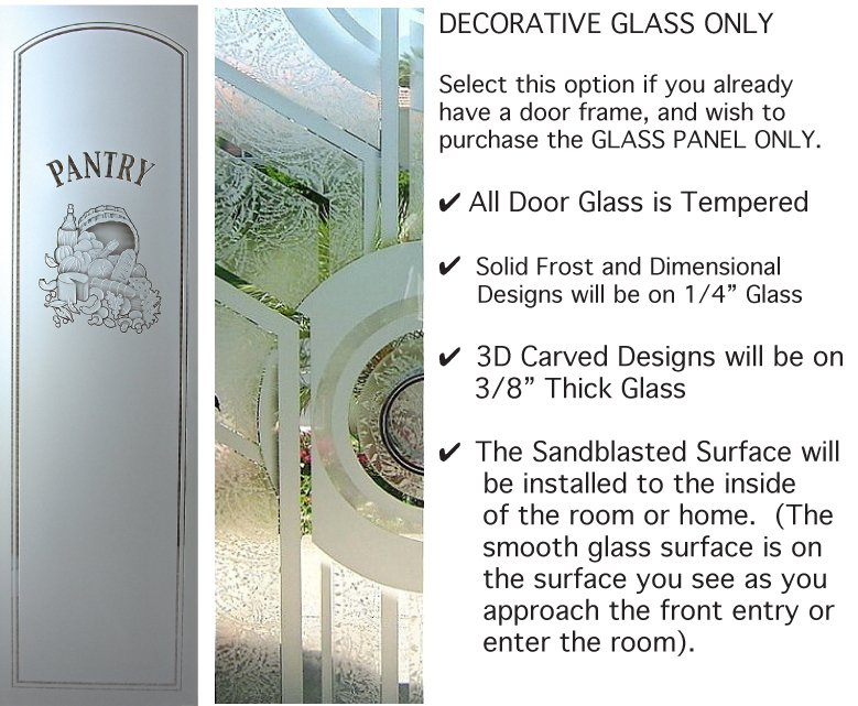 Door Glass Only (more info)