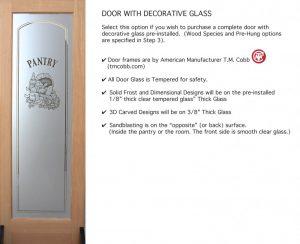 Doors - Glass & Frame