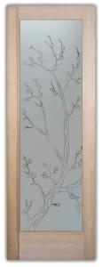 Cherry Blossom Pinstripe