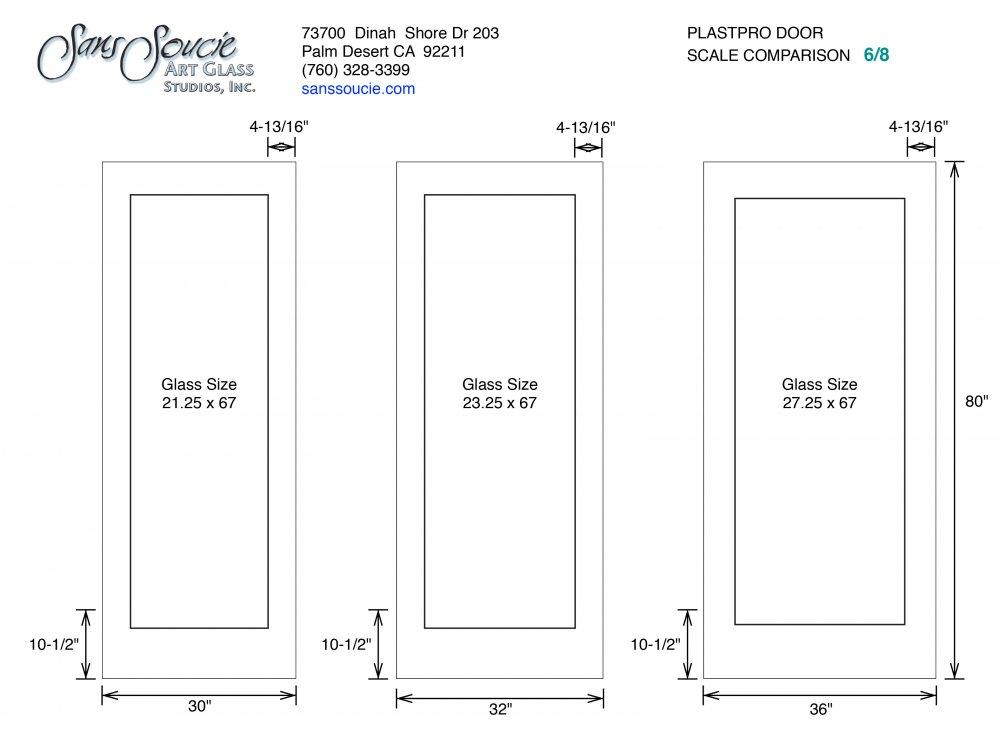 Plastpro 6 8 Door Specs Sans Soucie Art Glass