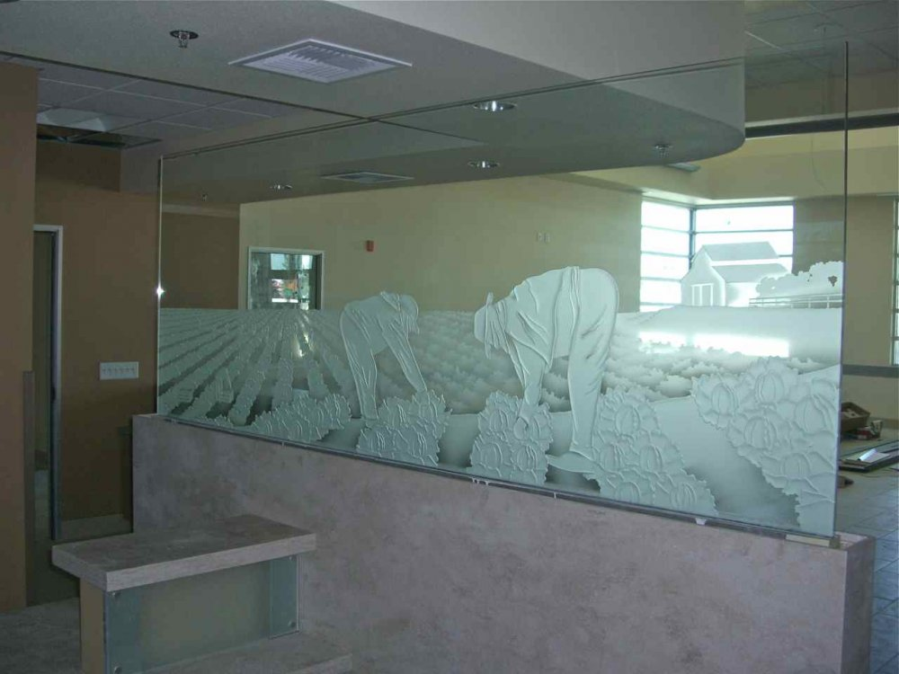 Rugged Mountains Partitions Pony Wall Sans Soucie