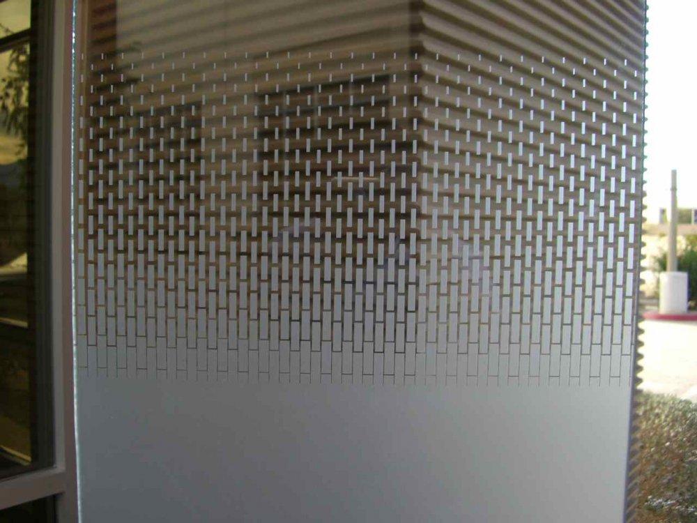 Gradient Fade Out Glass Partitions Enclosed Sans Soucie