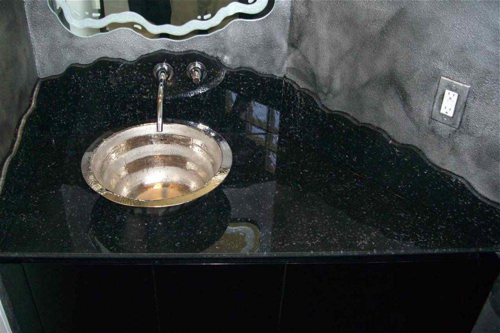 bath vanity - Sans Soucie Art Glass