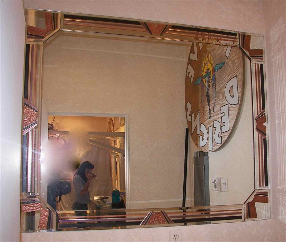 beveled mirror sans soucie art glass