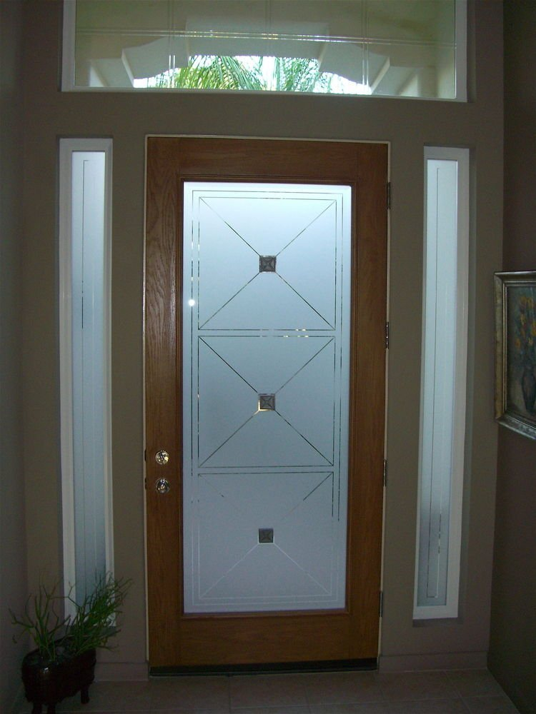 custom glass entry sans soucie art glass