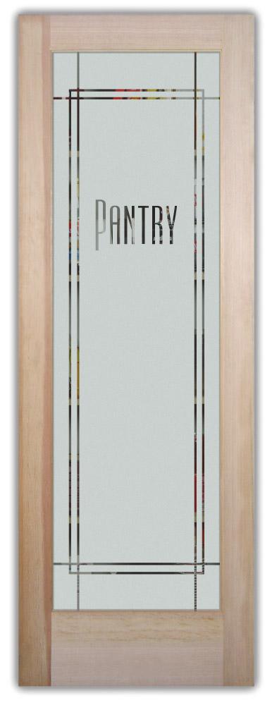 Poinsettia On Kitchen Cabinet Doors