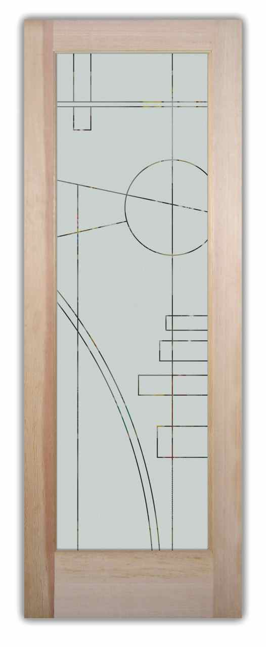 Frosted glass pantry doors contemporary designs by sans for Door design art
