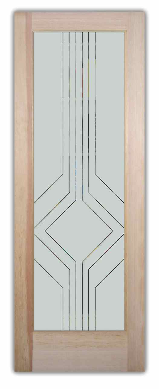 Frosted glass pantry doors contemporary designs by sans for Design patterns of doors