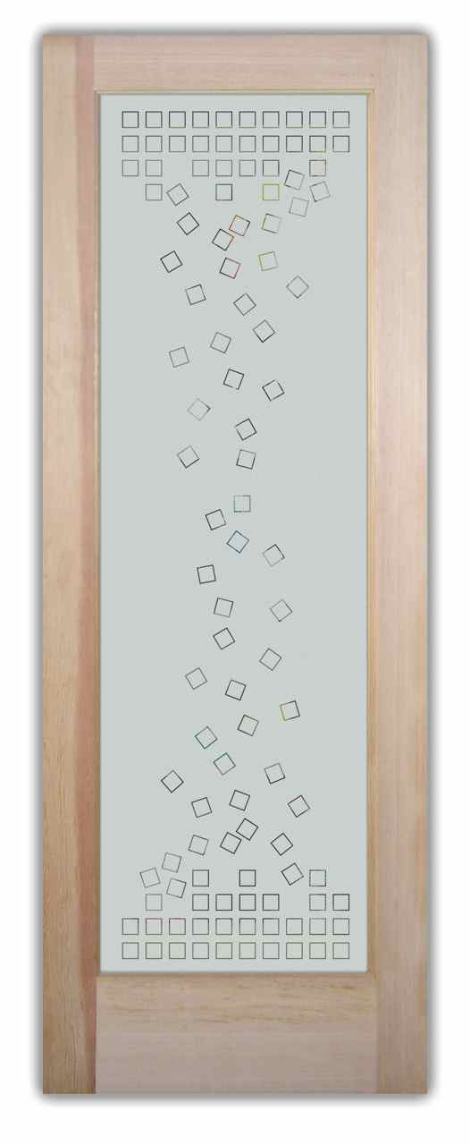 Frosted glass pantry doors contemporary designs by sans soucie