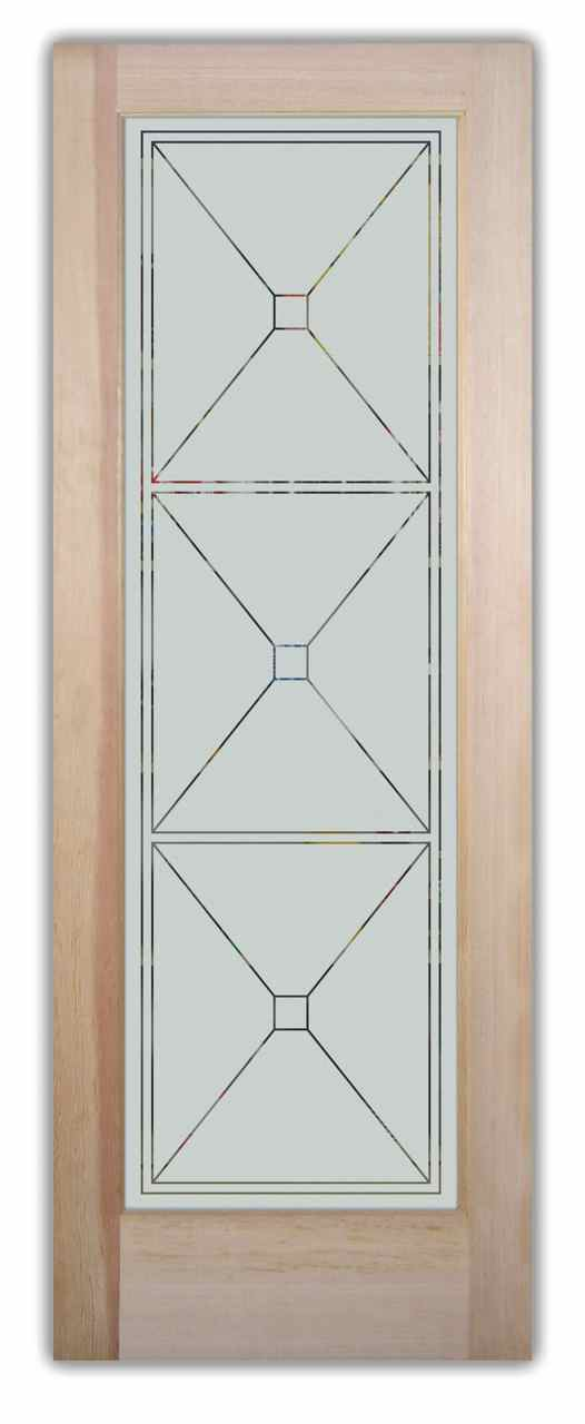 Frosted Glass Pantry Sans Soucie Art Glass