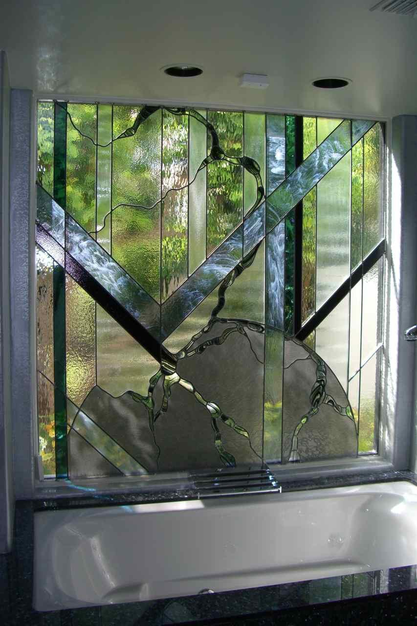 Leaded glass window sans soucie art glass for Art glass windows