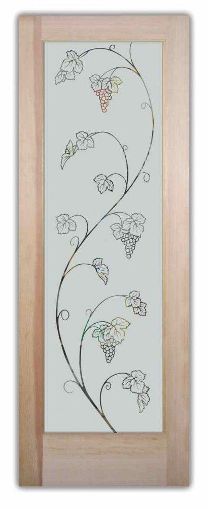 Grapevines Ivy Designs Sans Soucie Art Glass