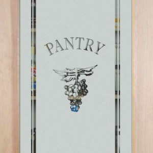 Etched glass pantry doors with grape grapevine designs sans etched glass door grapes cluster planetlyrics Choice Image