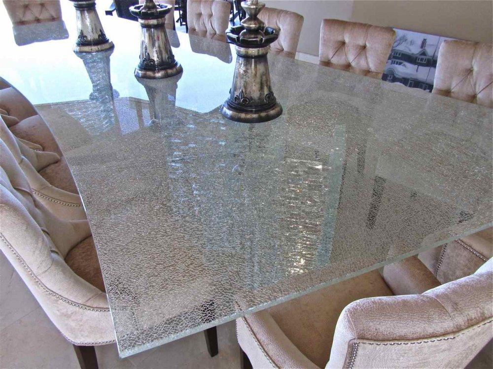 Shattered Glass Sans Soucie Art Glass