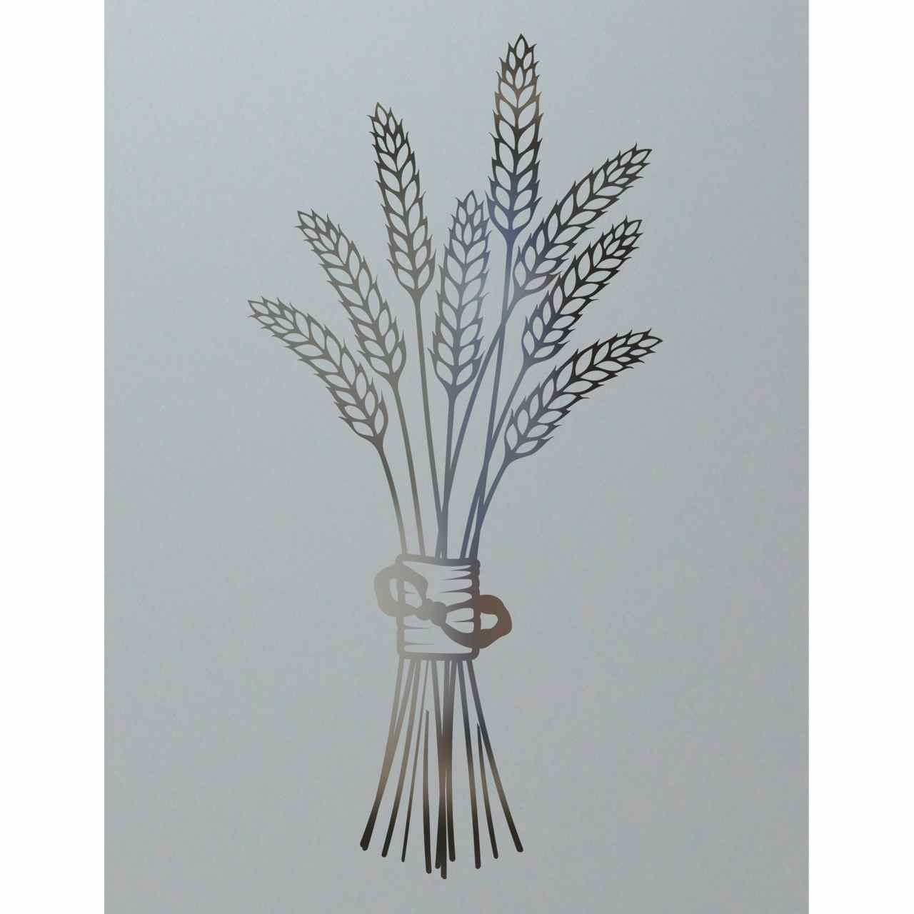 Pantry Doors Glass Design Bundled Wheat Petite Sans Soucie Art Glass