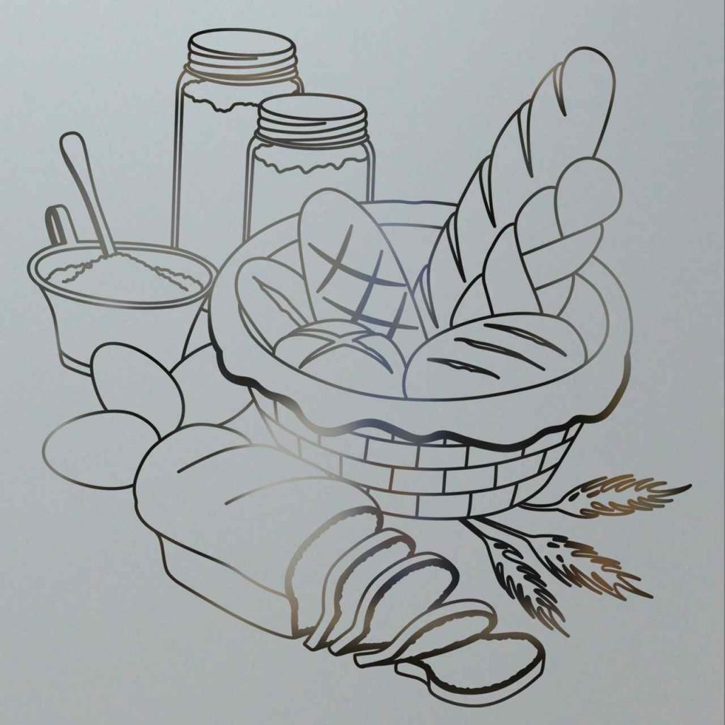 Bread Design Pantry Door Sans Soucie Art Glass