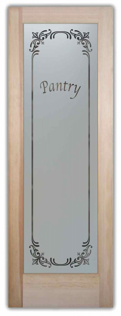 Pantry Door Etched Glass Sans Soucie Art Glass