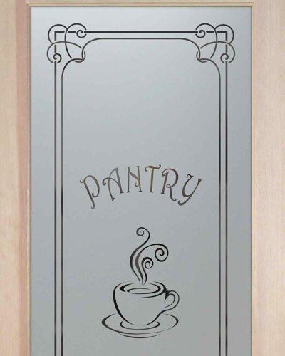 Frosted glass pantry door home design ideas - Pantry Door Sans Soucie Art Glass