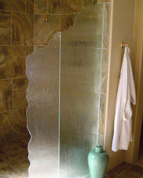 Shower Dividers - Sans Soucie Art Glass