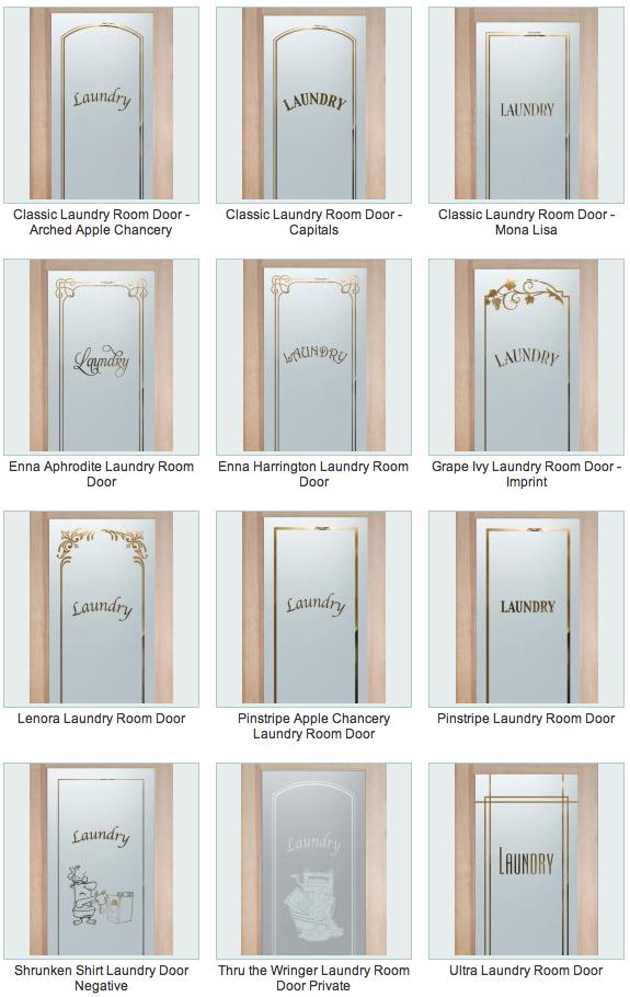 Laundry Room Doors Sans Soucie Art Glass