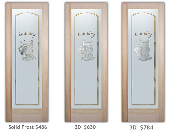 Click any photo enter our Laundry Room Doors Gallery! & Glass Laundry Room Doors to suit your Style! | Sans Soucie Art Glass