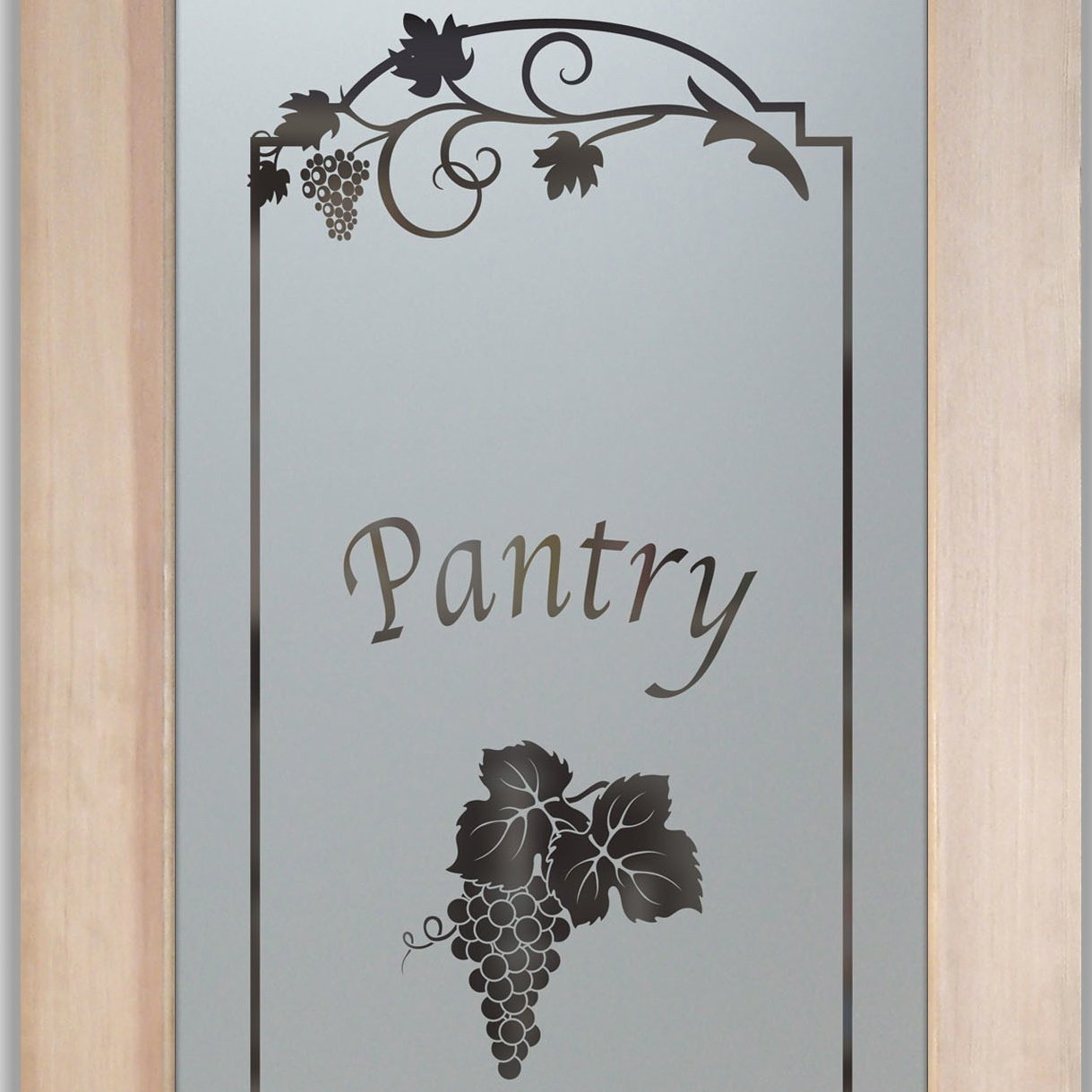 Pantry Doors With Glass That You Design To Suit Your