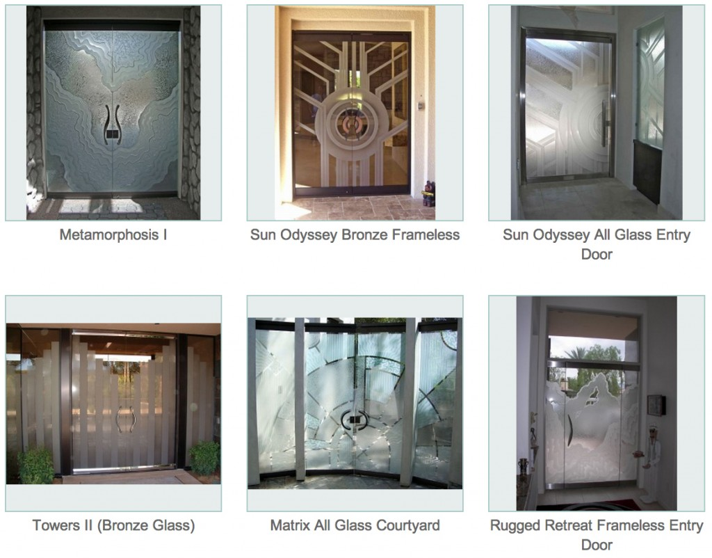 Frameless Doors - Sans Soucie Art Glass