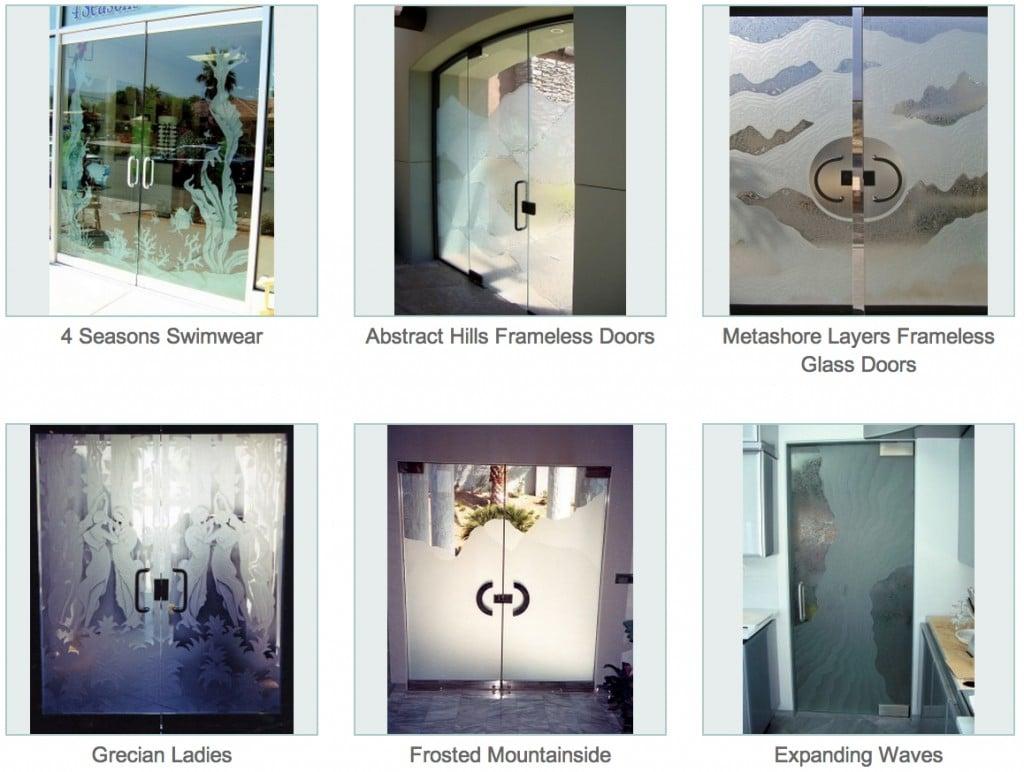 Frameless glass interior doors -  Frameless Glass Doors Sans Soucie 05