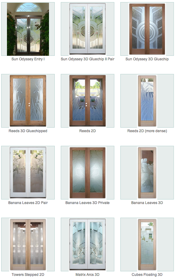 Contemporary glass designs sans soucie art glass for Etched glass entry doors