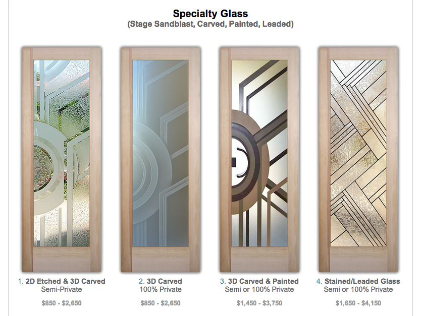 New Glass Doors In Our Online Door Designer Sans Soucie Art Glass
