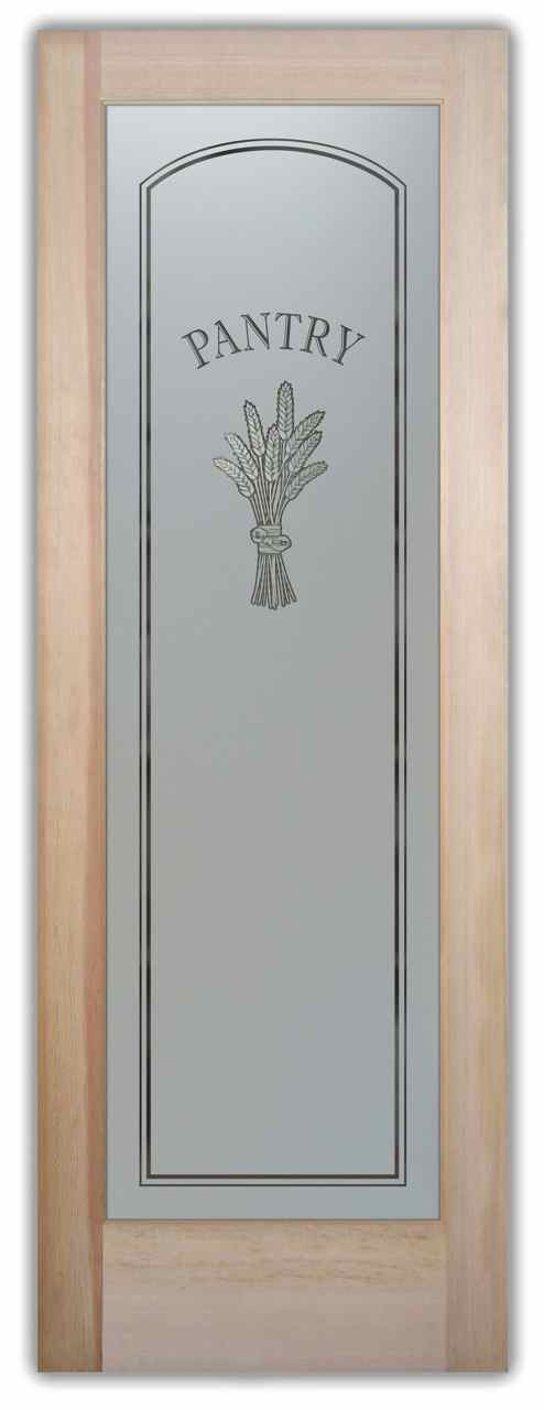 Country Style Pantry Doors Sans Soucie Art Glass